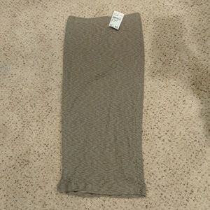 NEW Nordstrom Rack Taupe pencil skirt